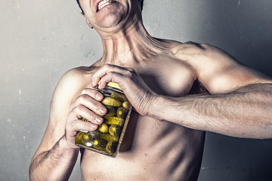 man-opening-jar